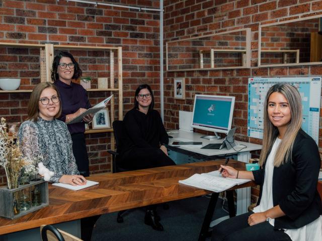 Commshake team in office